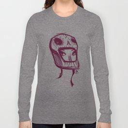 Skully Helmet Long Sleeve T-shirt