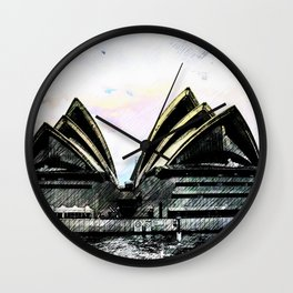 Sydney Opera House  Collection II Wall Clock
