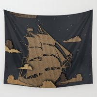 sail Wall Tapestries featuring sail by Chelsea Gass