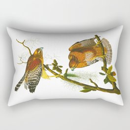 Red-shouldered Hawk Rectangular Pillow
