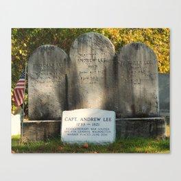 Capt. Andrew Lee Canvas Print