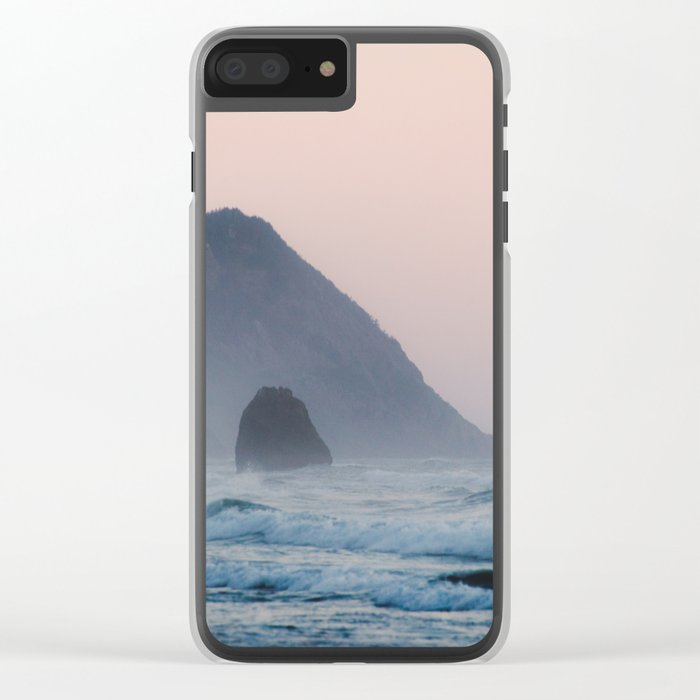 Pacific Coast Paradise Clear iPhone Case