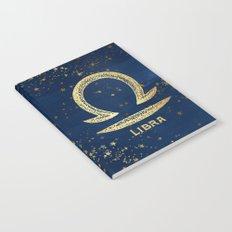 Libra Zodiac Sign Notebook