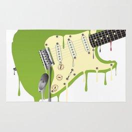Melting Guitar Rug