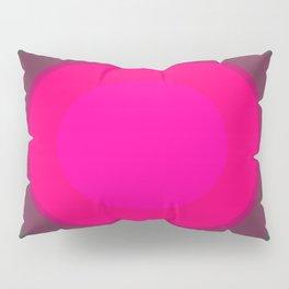 Hot Pink & Gray Focal Point Pillow Sham