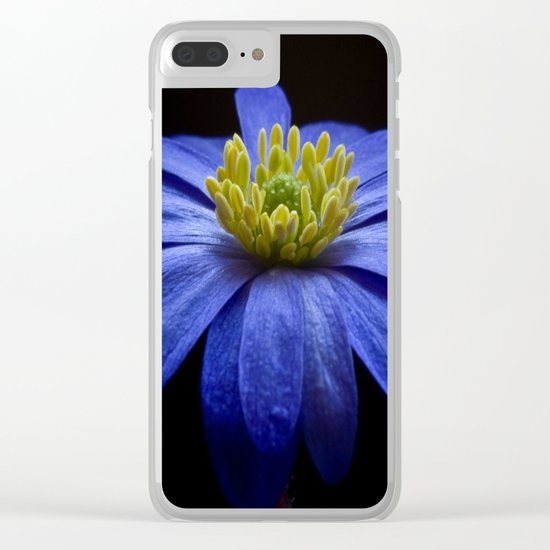 Balkan Anemone Clear iPhone Case