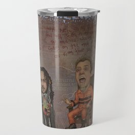 With Hell In My Eyes And With Death In My Veins Travel Mug