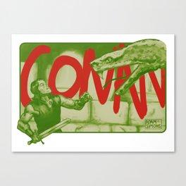 Conan! Canvas Print