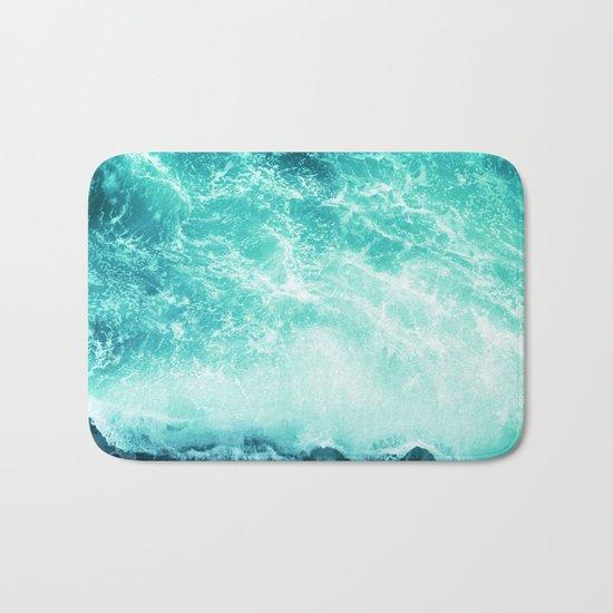 Deep Green Sea Bath Mat