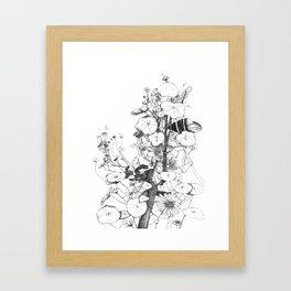 Fantin Latour tribute Framed Art Print