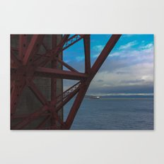 Golden Gate Geometry 2 Canvas Print