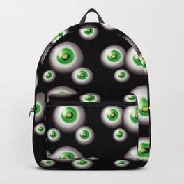 glass eyes - green Backpack
