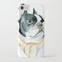 french bulldog iPhone & iPod Cases featuring French Bulldog by Dr.Söd