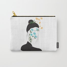 Lotus Face Carry-All Pouch