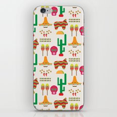 Mexico iPhone & iPod Skin