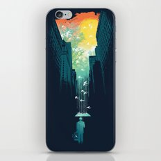 I Want My Blue Sky iPhone Skin