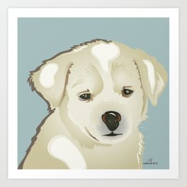 Puppy of Mine Art Print
