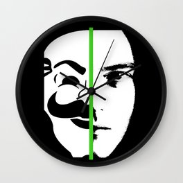 We Are The society (GREEN) Wall Clock