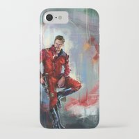 star lord iPhone & iPod Cases featuring Star-Lord by Wisesnail