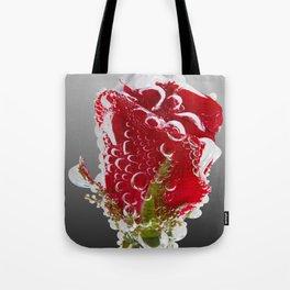 Rose Bubbles Tote Bag