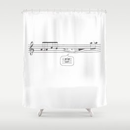 Who's Watching? Shower Curtain