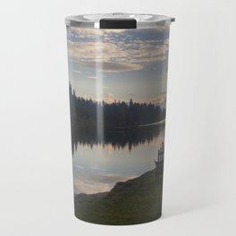 Morning Lake Travel Mug