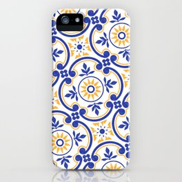 Floral design with exclusive pattern iPhone Case