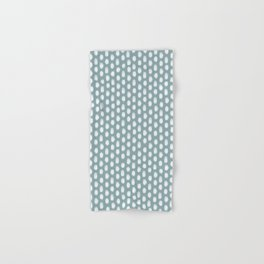 Dots . Blue Hand & Bath Towel