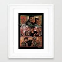 goodfellas Framed Art Prints featuring Goodfellas by ZIMZONOWICZ