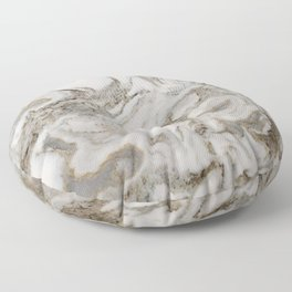 Crema marble Floor Pillow