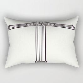 Irminsul  Jörmunr Rectangular Pillow