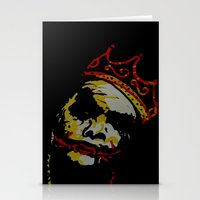 notorious big Stationery Cards featuring The Notorious BIG by Jide