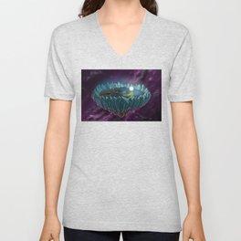The Flat Earth Unisex V-Neck
