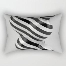 Primitive Stripes Rectangular Pillow