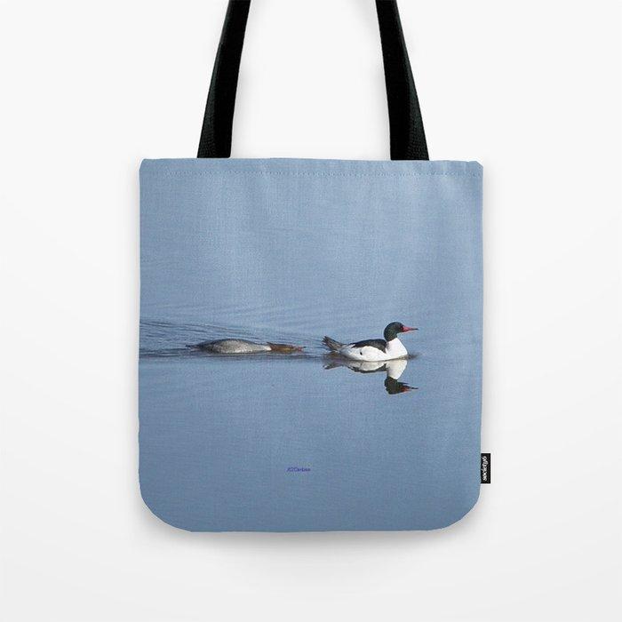 Mergansers on the Kenai Tote Bag