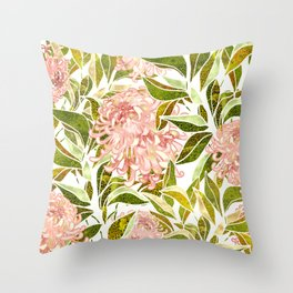 Spring Floral II Throw Pillow