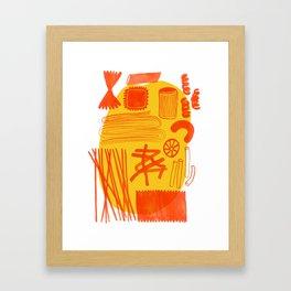 Pasta Soul Framed Art Print