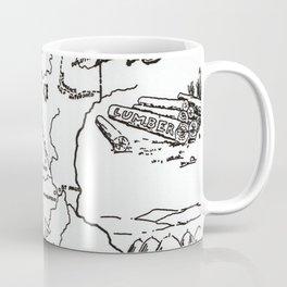 Vintage Map of Minnesota (1912) Coffee Mug