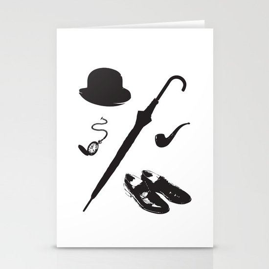 Gentleman's Accoutrements Stationery Cards