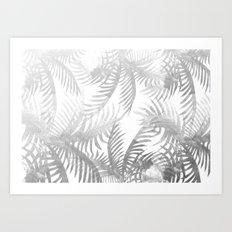 Jungle BW Art Print