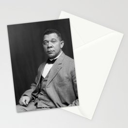 Booker T. Washington by Francis Benjamin Johnston, c. 1895 Stationery Cards
