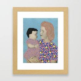 Telepathic Understanding Framed Art Print