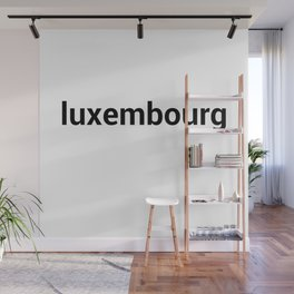 luxembourg Wall Mural