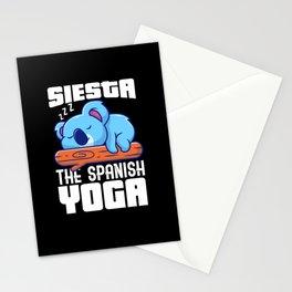 Siesta The Spanish Yoga Stationery Cards