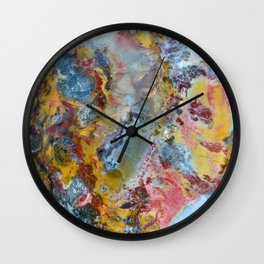 Petrified wood texture Wall Clock