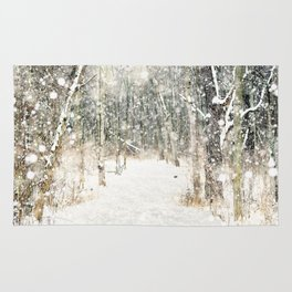 Winter Woods Rug