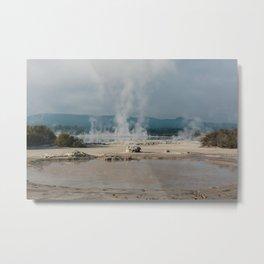 Rotorua Laughing Gas Pool Metal Print