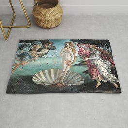 The Birth of Venus, Sandro Botticelli Rug