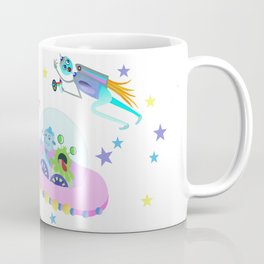 Outerspace Traffic Jam Coffee Mug