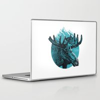 alaska Laptop & iPad Skins featuring Alaska by Krikoui